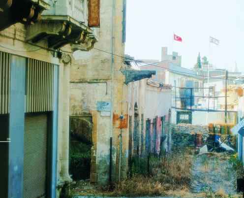 Nicosia, Zona Morta e la parte occupata dall'esercito turco